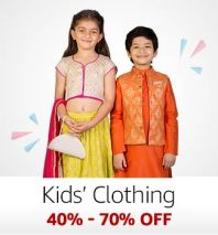 Kid's Clothing: 40%-70% off