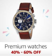 Premium Watches: 40%-60% off