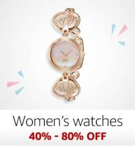 Women watches 40%-80% off