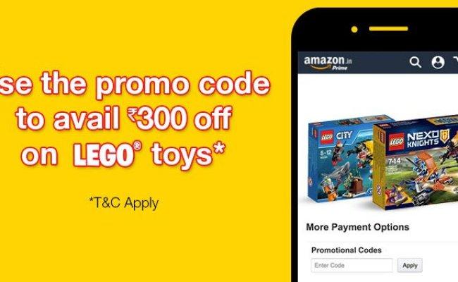 Amazon Buy Toys Get Rs 300 Lego Promocode Jul 2019
