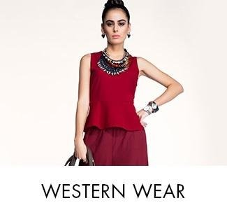 Western wear clothings on Amazon India