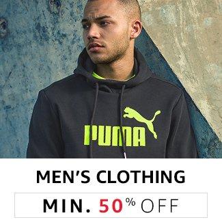 Men's Clothing: Min 50% off