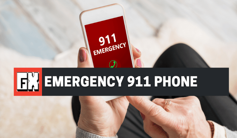 Emergency 911 Phone