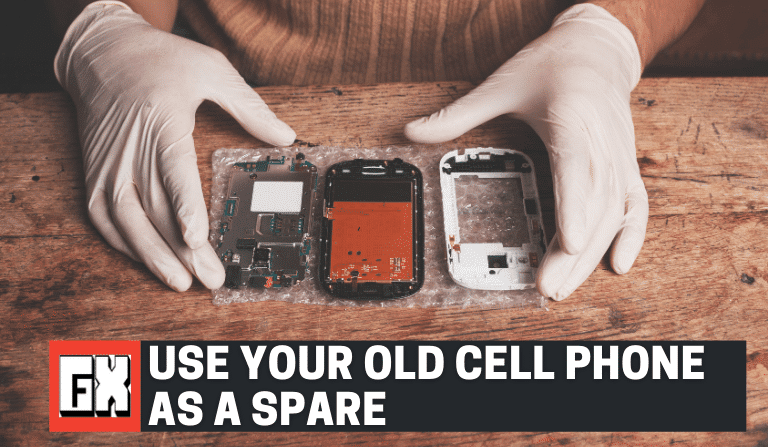 Take Apart Your Old Cell Phone
