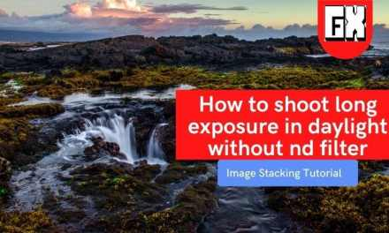How to shoot long exposure in daylight without nd filter