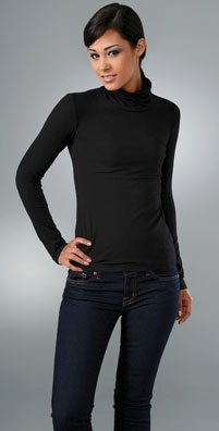 James Perse Stretched Turtleneck