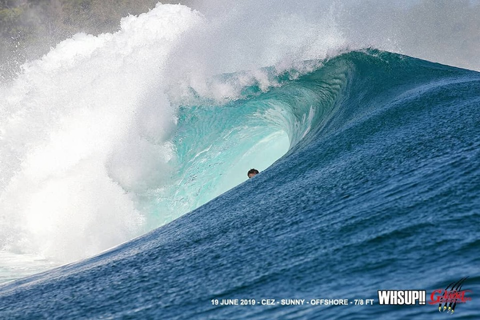 G-land Daily Surf Report 19 June 2019