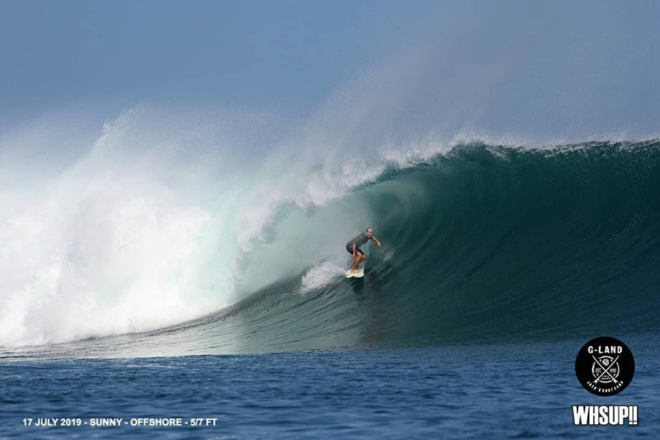 G-land Daily Surf Report 17th July 2019