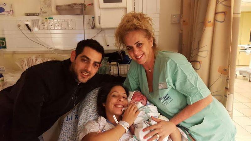 מזל טוב לחינית ומאור ארג'י מכרמיאל על הבת אנאל.
