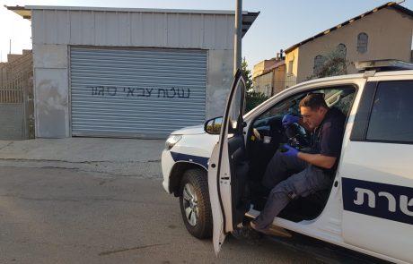 כתובות נאצה ונזק לרכבים בשכונת עכברה בצפת – נעצרו חשודים