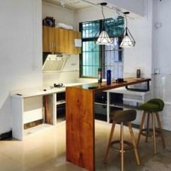 High Kitchen Table Sets Pantry Cabinets 定制铁艺实木家庭吧台餐桌客厅隔断家用桌厨房美式原木靠墙高脚桌 阿里 阿里巴巴找货神器