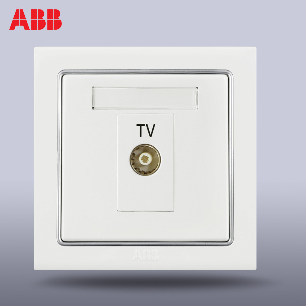 hight resolution of abb switch socket panel abb switch abb socket denin a common tv socket an301