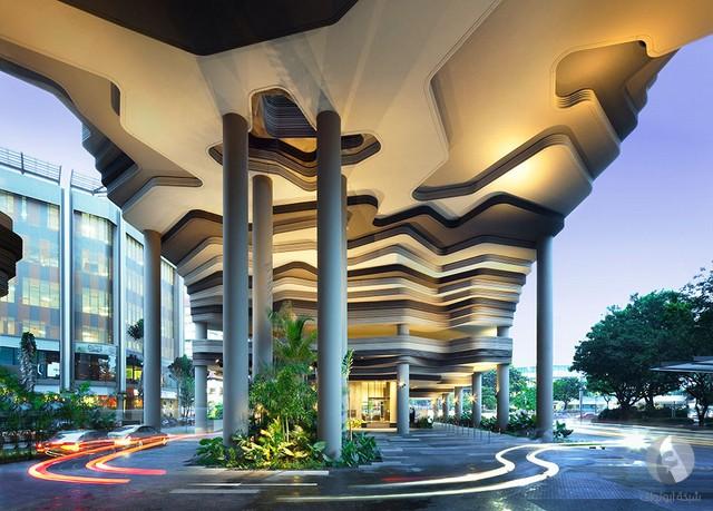 تحفة معمارية في سنغافورة