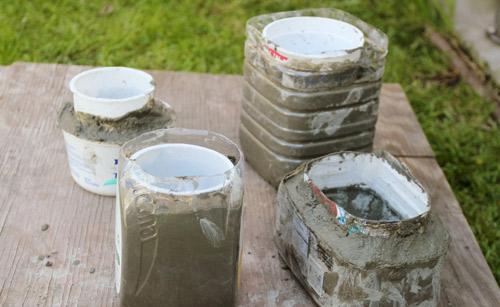 Low cost Decoration Hacer macetas con cemento  Manualidades y Artesana