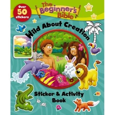 Creation Bible activity book kids