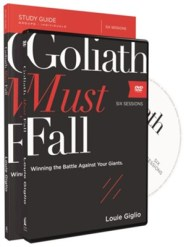 Goliath Must Fall Study Guide with DVD: Winning the Battle Against Your Giants  -     By: Louie Giglio