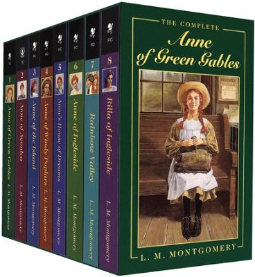 Anne of Green Gables Series 8-Volume Boxed Set: L.M. Montgomery:  9780553609417 - Christianbook.com