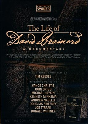 The Life of David Brainerd: A Documentary, DVD   -
