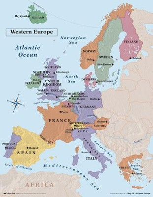 World History Map : world, history, Abeka, World, History, Geography, Review, Christianbook.com
