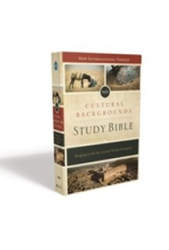 NIV Cultural Backgrounds Study Bible, Hardcover - By: Craig Keener, John Walton