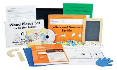 Handwriting Without Tears Kindergarten Kit (with  Standard Letter Cards)  -