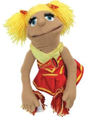 cheerleader hand puppet