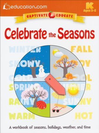 Celebrate The Seasons Workbook Pre K K 9780486802572