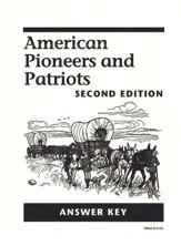 American Pioneers and Patriots, Second Edition, Grade 3
