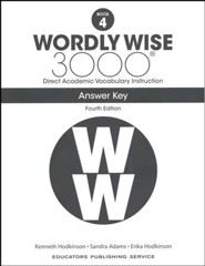 Wordly Wise 3000 Book 4 Student Edition (4th Edition