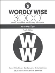 Wordly Wise 3000 Book 5 Student Edition (4th Edition
