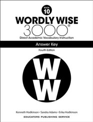 Wordly Wise 3000 Book 10 Student Edition (4th Edition