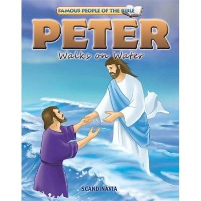 Peter Walks on Water story book