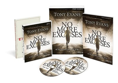 No More Excuses DVD Leader Kit   -     By: Tony Evans