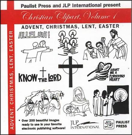Christian Clipart I Advent Christmas Lent Easter