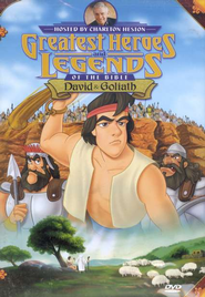 David and Goliath, Greatest Heroes and Legends of the Bible DVD  -