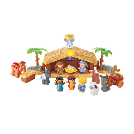 Little People Christmas Nativity play Set toy