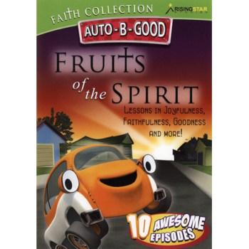 Biblical Fruits of the Holy Spirit cartoon
