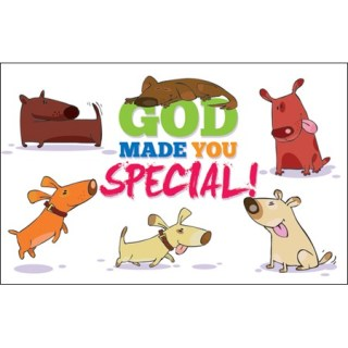 God Made You Special Post card