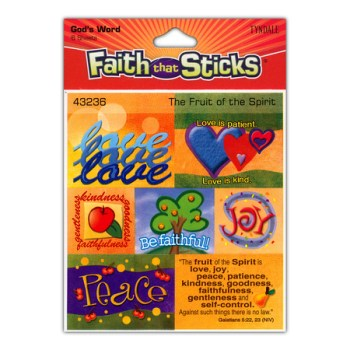 Stickers Fruit Of The Spirit package