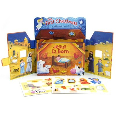 Christmas manger Book Play set
