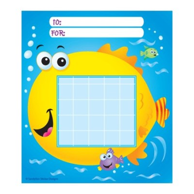 Fish Sunday school Incentive Charts