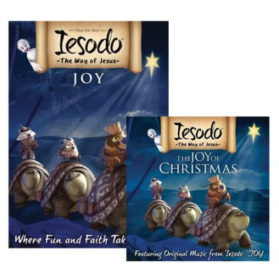 Iesodo religious Christmas cartoon and book set