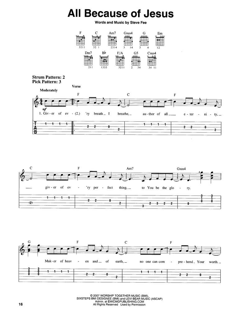 Beginner Guitar Worship Songs : beginner, guitar, worship, songs, Contemporary, Christian, Collection, (Easy, Guitar, Tab):, 9781423494362, Christianbook.com