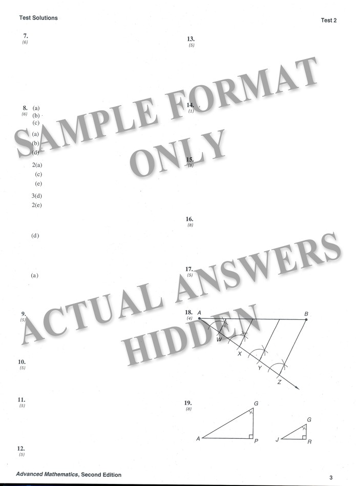 Bestseller: Advanced Mathematics Precalculus Pdf Answers