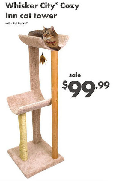 Whisker City Cat Tree : whisker, PetSmart:, Whisker, Tower, RedFlagDeals.com