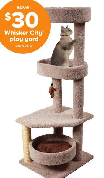 Whisker City® Cat Tree | Furniture & Towers | PetSmart