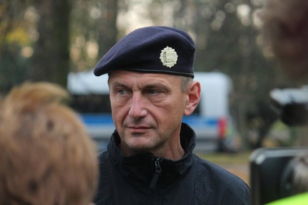 The police officers in Opava supervised a group of Baník people with more than a thousand people.