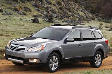 """Naujasis """"Subaru Legacy Outback"""" - aukštesnis ir erdvesnis"""