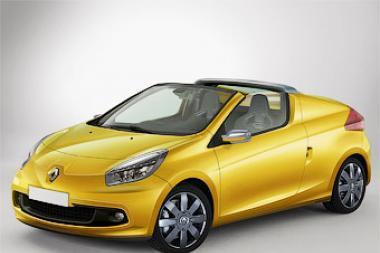 """""""Renault"""" pristatė """"Twingo"""" kabrioletą"""