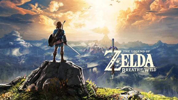 Graphic of Nintendo's The Legend of Zelda video game.